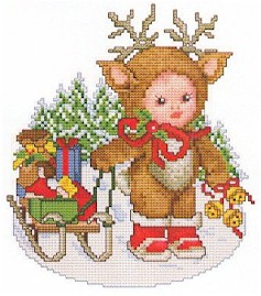 click here to view larger image of Reindeer Baby (chart)
