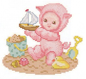 click here to view larger image of Piglet Baby (chart)