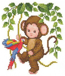 click here to view larger image of Monkey Baby In The Jungle (chart)