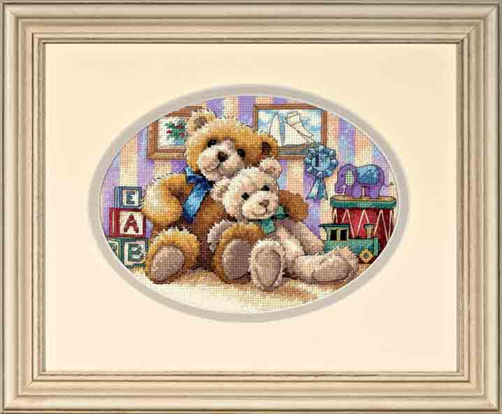 click here to view larger image of Warm and Fuzzy (counted cross stitch kit)