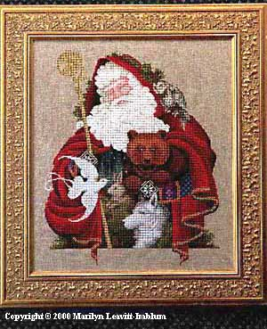 click here to view larger image of Santa of the Forest (chart)