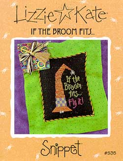 click here to view larger image of If the Broom Fits - Snippet (chart)