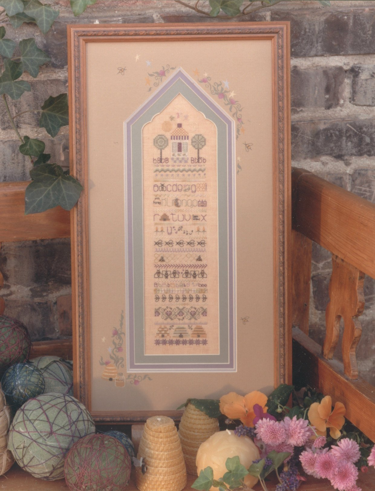 click here to view larger image of Beekeeper's Cottage (counted cross stitch kit)