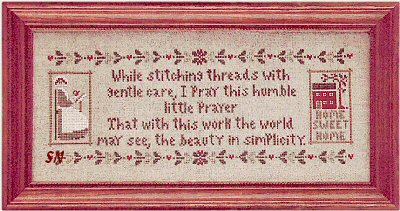 click here to view larger image of Stitcher's Prayer, A (chart)