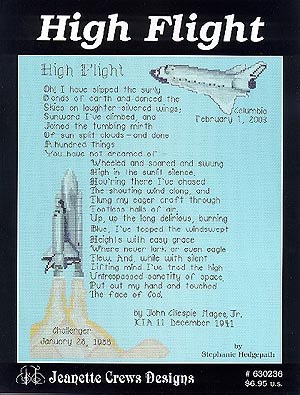 click here to view larger image of High Flight  (chart)