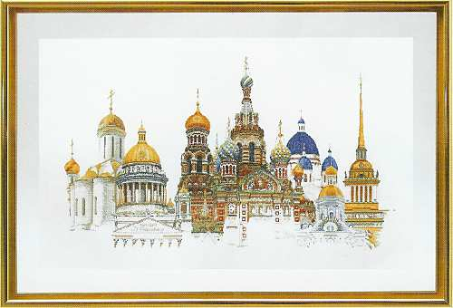 click here to view larger image of St Petersburg (counted cross stitch kit)