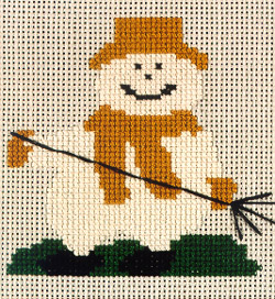 click here to view larger image of Simply...Fall Snowman (chart)