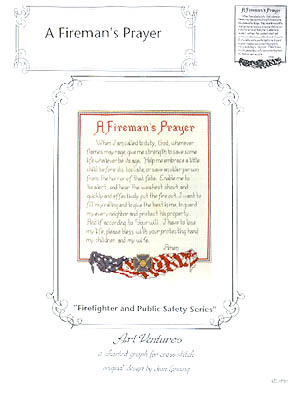 click here to view larger image of Fireman's Prayer, A (chart)