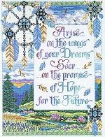 click here to view larger image of Arise on the Wings (counted cross stitch kit)