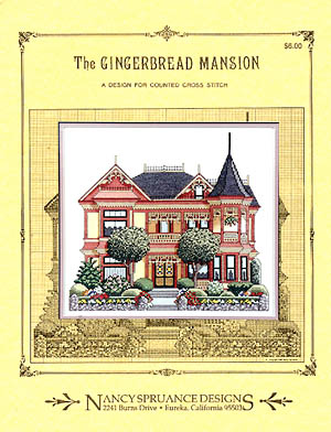 click here to view larger image of Gingerbread Mansion (chart)