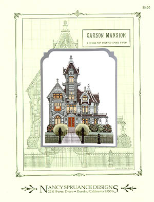 click here to view larger image of Carson Mansion (chart)