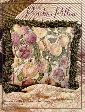 click here to view larger image of Peaches Pillow (chart)