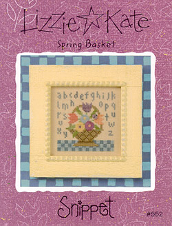 click here to view larger image of Spring Basket (chart)