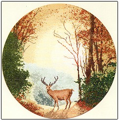 click here to view larger image of Autumn Light (counted cross stitch kit)