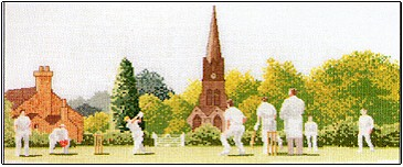 click here to view larger image of Cricket Scene (chart)