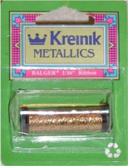 click here to view larger image of Kreinik Ribbon - 1/8  (fiber)