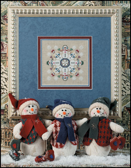 click here to view larger image of Snow Business (includes embellishments) (chart with charms/buttons)