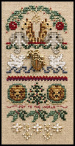 click here to view larger image of Joyous Ark (Includes Embellishments) (chart with charms/buttons)