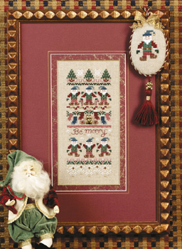 click here to view larger image of Be Merry (w/Embellishments) (chart)