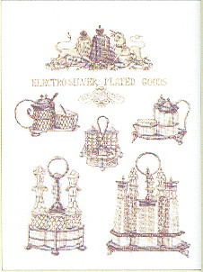 click here to view larger image of Silhouettes (counted cross stitch kit)