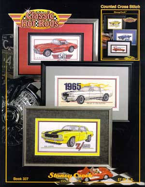 click here to view larger image of Classic Hot Rods (chart)