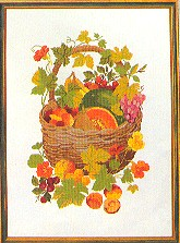 click here to view larger image of Fruit Basket (counted cross stitch kit)