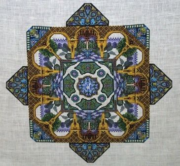 click here to view larger image of Alhambra Garden (chart)