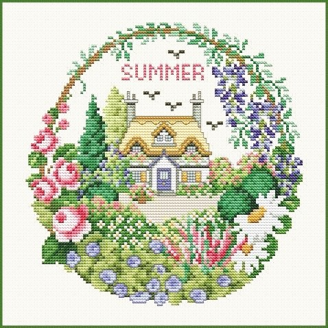 click here to view larger image of Cottage in Summer (chart)