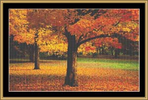 click here to view larger image of Autumn Peace (chart)