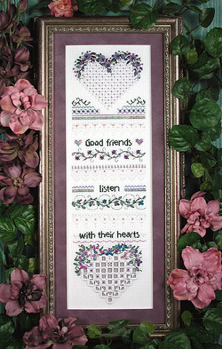 click here to view larger image of Good Friends Sampler (chart)