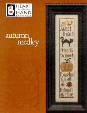 click here to view larger image of Autumn Medley (chart)