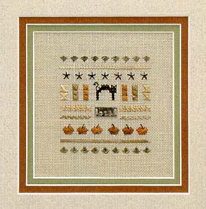 click here to view larger image of Pocket Sampler - Boo (chart)