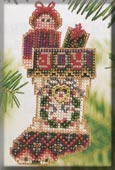 click here to view larger image of Joyful Stocking (counted cross stitch kit)