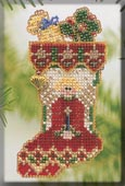 click here to view larger image of Angelic Stocking (counted cross stitch kit)
