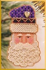 click here to view larger image of Father Christmas  (counted cross stitch kit)