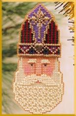 click here to view larger image of St. Nicholas  (counted cross stitch kit)