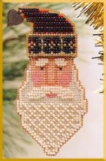 click here to view larger image of Saint Nick  (counted cross stitch kit)