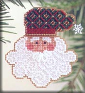 click here to view larger image of Father Frost (counted cross stitch kit)