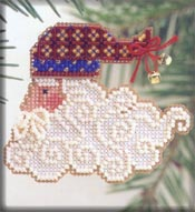 click here to view larger image of Santa Jingles (counted cross stitch kit)