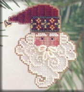 click here to view larger image of Santa Noel (counted cross stitch kit)