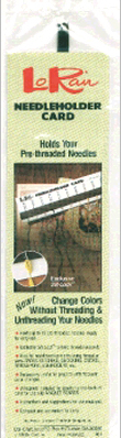 click here to view larger image of LoRan Needleholder Card  (accessory)