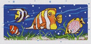 click here to view larger image of Fish Kit (counted cross stitch kit)