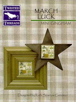 click here to view larger image of Mini Gingham - March Luck (chart)