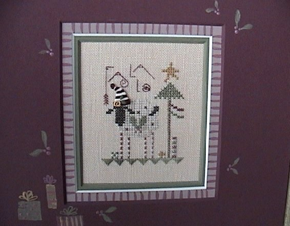 click here to view larger image of Fa La La (counted cross stitch kit)