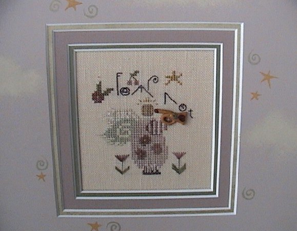 click here to view larger image of Fear Not (counted cross stitch kit)