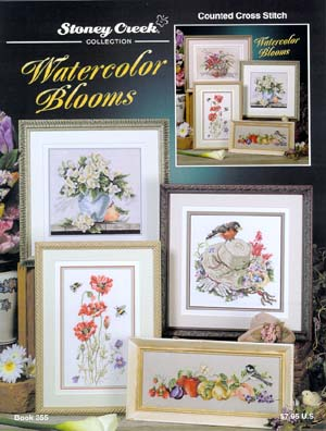 click here to view larger image of Watercolor Blooms (chart)