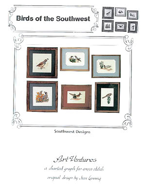 click here to view larger image of Birds of the Southwest (chart)