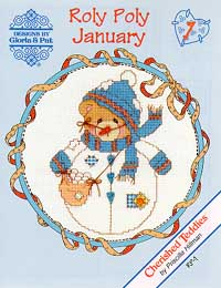 click here to view larger image of Roly Polys-January (Cherished Teddies) (chart)