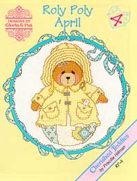 click here to view larger image of Roly Polys-April (Cherished Teddies) (chart)