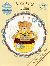 click here to view larger image of Roly Polys-June (Cherished Teddies) (chart)